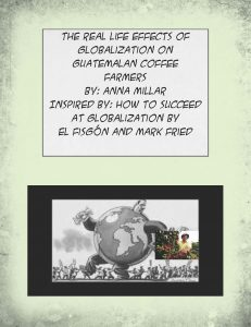 Example of Graphic Essay from Globalization course
