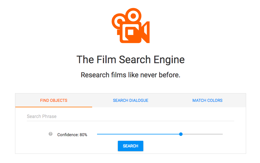 Film Search Engine website